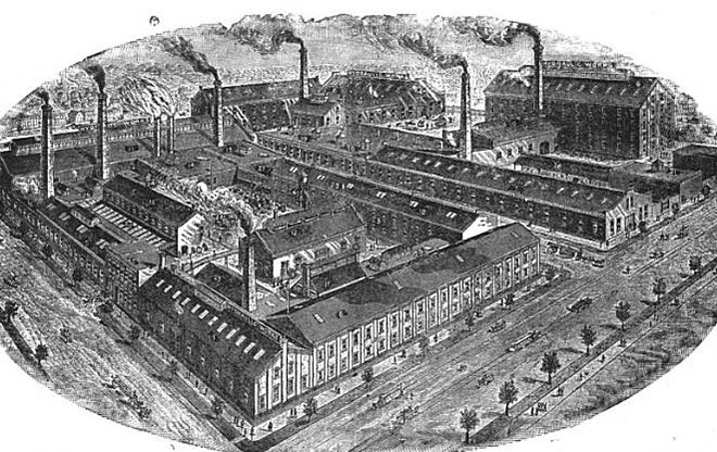 Worthington's Main Plant In Brooklyn New York