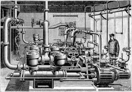 Tandem Compound Steam Pumps